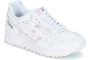 asics gel saga womens white white trainers womens