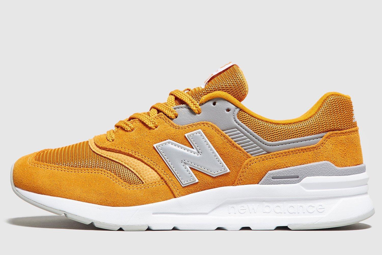 New Balance 997 Mens Yellow Cm997hcf Yellow Trainers Mens