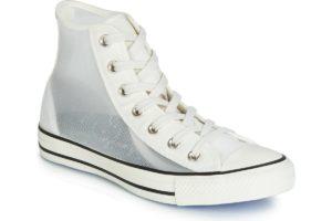 converse all star high womens white white trainers womens