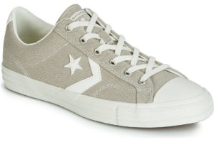 converse star player mens beige beige trainers mens