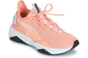puma defy womens orange orange trainers womens