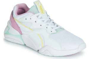 puma nova womens white white trainers womens