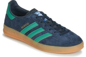 adidas gazelle mens blue blue trainers mens