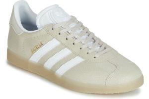 adidas gazelle womens beige beige trainers womens