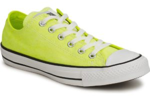 converse all star ox mens yellow yellow trainers mens
