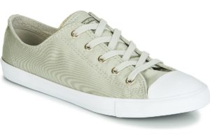 converse all star ox womens green green trainers womens