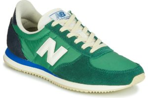 new balance 220 mens green green trainers mens