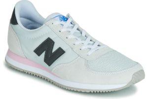new balance 220 womens white white trainers womens