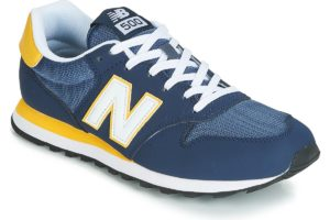 new balance 500 mens blue blue trainers mens