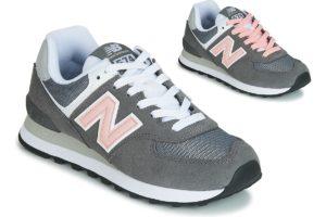 new balance 574 womens grey grey trainers womens