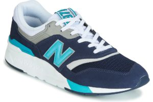 new balance 997 mens blue blue trainers mens
