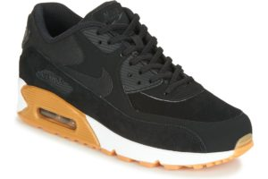 nike air max 90 womens black black trainers womens