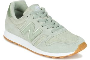 new balance 373 womens green green trainers womens