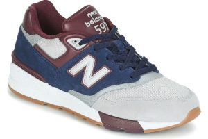 new balance 597 mens blue blue trainers mens