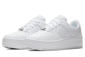 Nike Air Force 1 Dames Wit Ar5339 100 Witte Sneakers Dames
