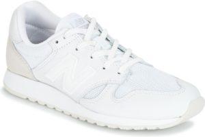 new balance 520 mens white white trainers mens