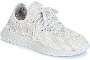adidas deerupt womens white white trainers womens
