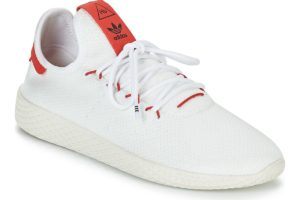 adidas pharrell williams tennis mens white white trainers mens