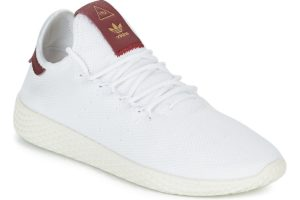 adidas pharrell williams tennis womens white white trainers womens
