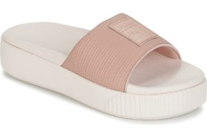 puma platform slide womens pink pink trainers womens
