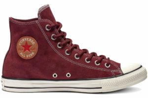 Converse All Star High Mens Burgundy 163865c Burgundy Trainers Mens
