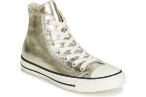 converse all star high womens gold gold trainers womens
