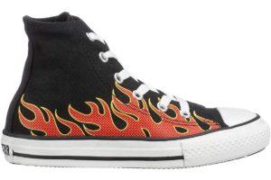 Converse All Stars Hoog Meisjesjongens Zwart 66015 3 369 Ck Zwarte Sneakers Meisjesjongens