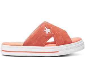 converse-one star-womens-orange-564146C-orange-sneakers-womens