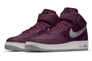 Nike Air Force 1 Dames Paars Aq3779 992 Paarse Sneakers Dames