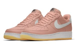 Nike Air Force 1 Dames Roze Aq3778 992 Roze Sneakers Dames