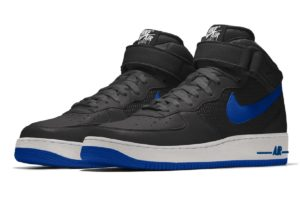 Nike Air Force 1 Heren Zwart Aq3776 992 Zwarte Sneakers Heren (1)