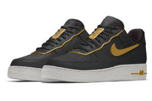 Nike Air Force 1 Mens Black Cd9427 992 Black Sneakers Mens