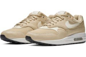 nike-air max 1-womens-beige-454746-209-beige-sneakers-womens