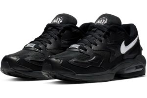 nike-air max 2 light-mens-black-ao1741-001-black-trainers-mens