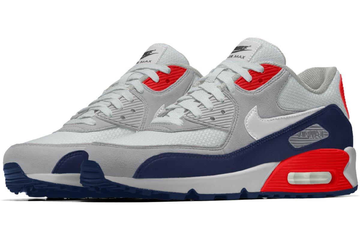 b51c198ed3b Nike Air Max 90 Heren Multicolor Bq8747 991 Multicolor Sneakers Heren
