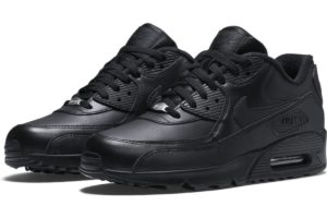 nike-air max 90-mens-black-302519-001-black-sneakers-mens