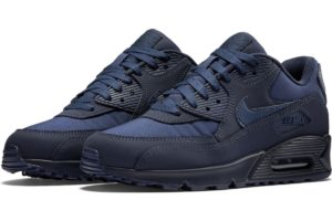 nike-air max 90-mens-blue-537384-412-blue-sneakers-mens