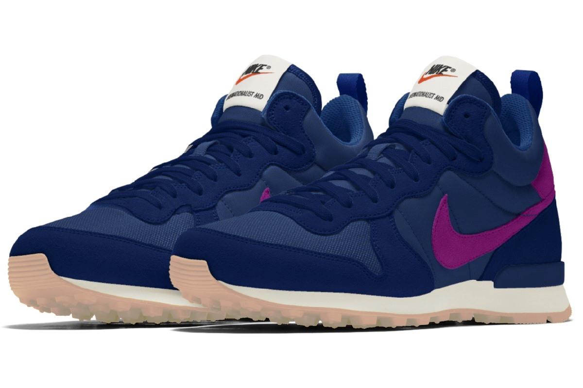16f4218b3f3 Nike Internationalist Dames Blauw Av5910 995 Blauwe Sneakers Dames