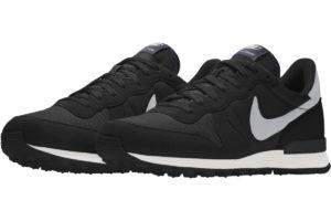 Nike Internationalist Heren Zwart 828790 995 Zwarte Sneakers Heren (1)
