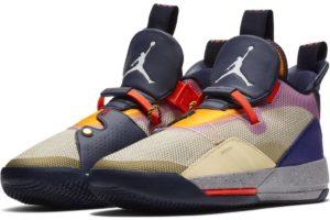 nike-jordan air jordan xxxiii-mens-brown-aq8830-200-brown-sneakers-mens