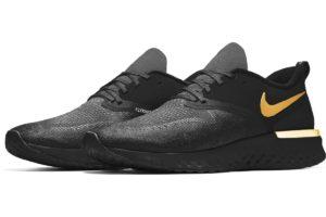 Nike Odyssey React Mens Black Bq8759 991 Black Sneakers Mens