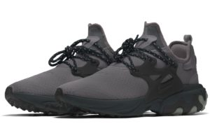 Nike React Presto Id Mens Black Cj5282 991 Black Sneakers Mens