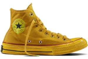 converse all star high yellow