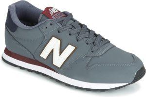 new balance 500 mens grey grey trainers mens