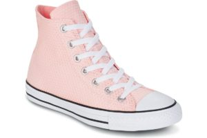 converse all star high womens pink pink trainers womens