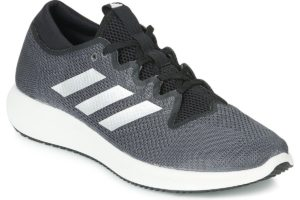 adidas edge flex mens black black trainers mens