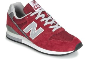 new balance 996 mens red red trainers mens