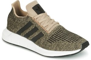 adidas swift mens gold gold trainers mens