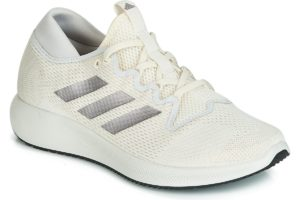 adidas edge flex womens beige beige trainers womens