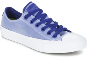 converse all star ox womens blue blue trainers womens